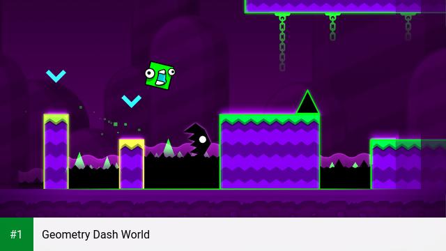 Geometry Dash World app screenshot 1