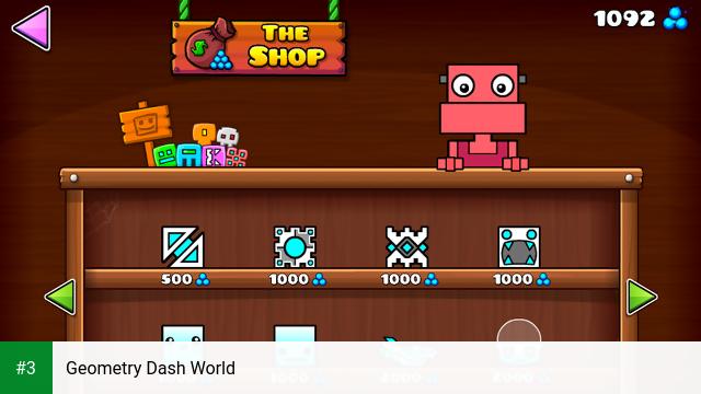 Geometry Dash World app screenshot 3