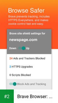 Brave Browser: Fast AdBlocker apk screenshot 2