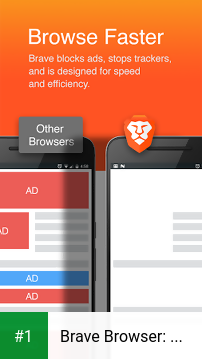 Brave Browser: Fast AdBlocker app screenshot 1
