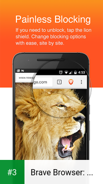 Brave Browser: Fast AdBlocker app screenshot 3
