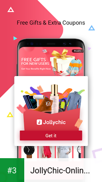JollyChic-Online Shopping Mall for A New Lifestyle app screenshot 3