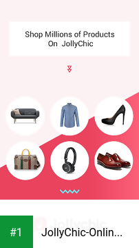 JollyChic-Online Shopping Mall for A New Lifestyle app screenshot 1