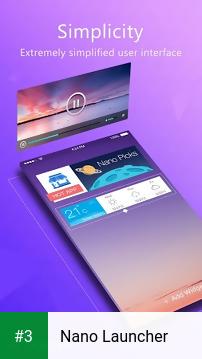 Nano Launcher app screenshot 3