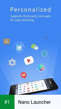 Nano Launcher app screenshot 1