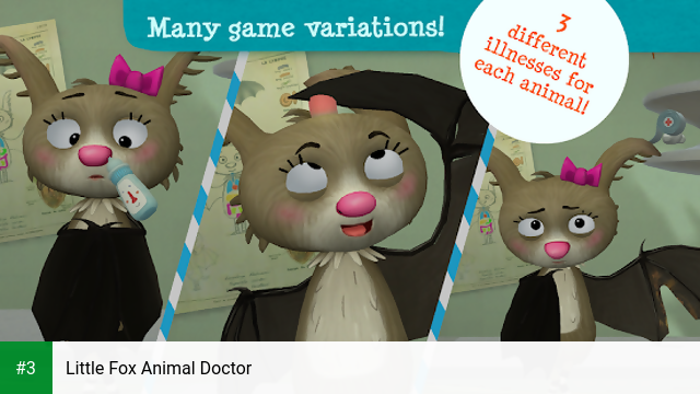 Little Fox Animal Doctor app screenshot 3