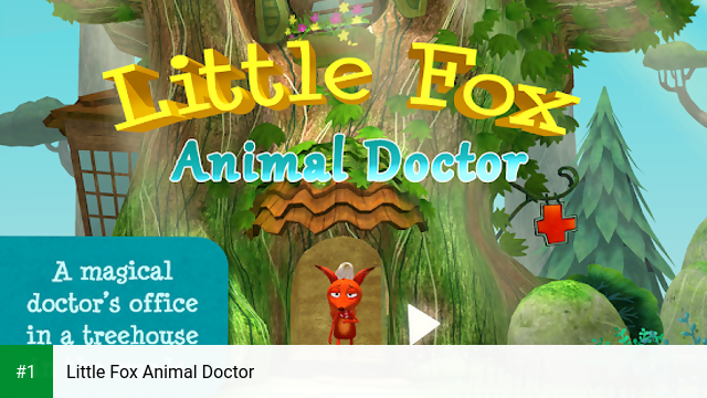 Little Fox Animal Doctor app screenshot 1