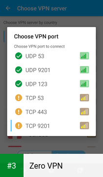 Zero VPN app screenshot 3