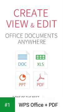 WPS Office + PDF app screenshot 1