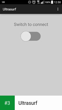 Ultrasurf app screenshot 3