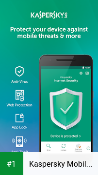 Kaspersky Mobile Antivirus app screenshot 1