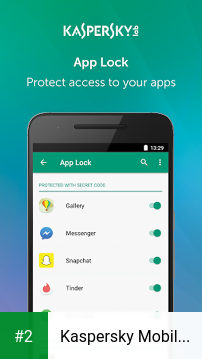 Kaspersky Mobile Antivirus apk screenshot 2