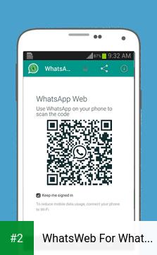 WhatsWeb For Whatscan apk screenshot 2