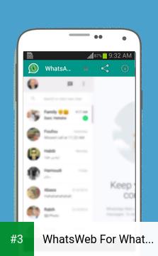WhatsWeb For Whatscan app screenshot 3