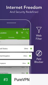 PureVPN app screenshot 3