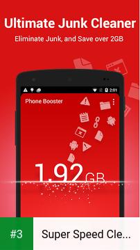 Super Speed Cleaner - Booster app screenshot 3