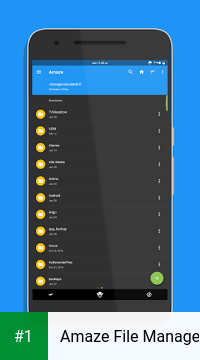 Amaze File Manager app screenshot 1
