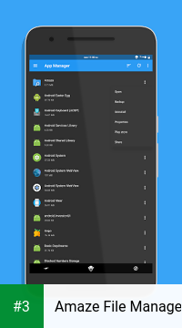 Amaze File Manager app screenshot 3