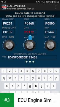 ECU Engine Sim app screenshot 3