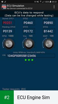 ECU Engine Sim apk screenshot 2
