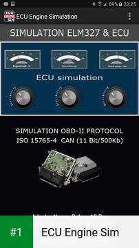 ECU Engine Sim app screenshot 1