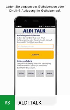 ALDI TALK app screenshot 3