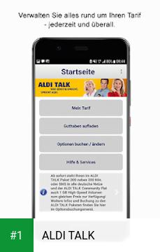 ALDI TALK app screenshot 1