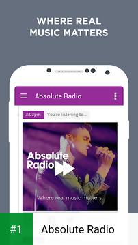 Absolute Radio app screenshot 1