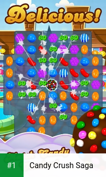 Candy Crush Saga app screenshot 1
