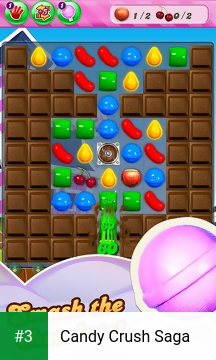 Candy Crush Saga app screenshot 3
