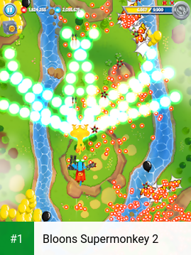 Bloons Supermonkey 2 app screenshot 1