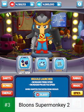 Bloons Supermonkey 2 app screenshot 3