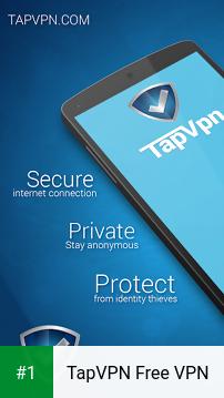 TapVPN Free VPN app screenshot 1