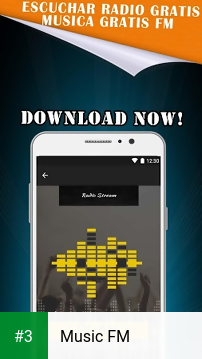 Music FM app screenshot 3