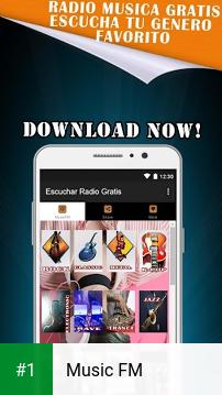 Music FM app screenshot 1