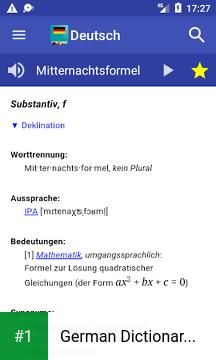 German Dictionary Offline app screenshot 1