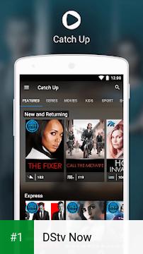 DStv Now app screenshot 1