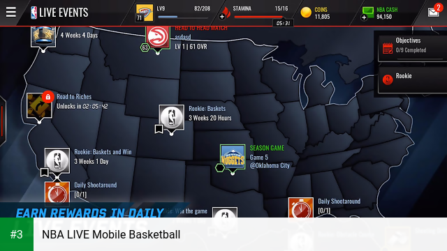 NBA LIVE Mobile Basketball app screenshot 3