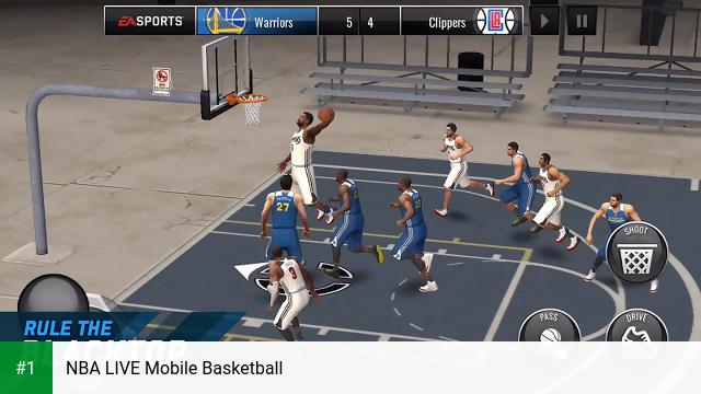 NBA LIVE Mobile Basketball app screenshot 1