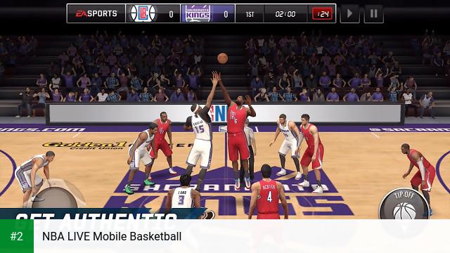 NBA LIVE Mobile Basketball apk screenshot 2