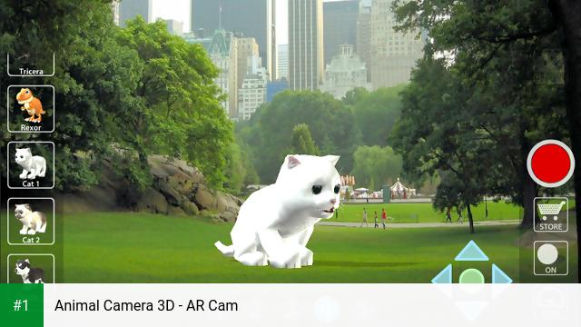 Animal Camera 3D - AR Cam app screenshot 1