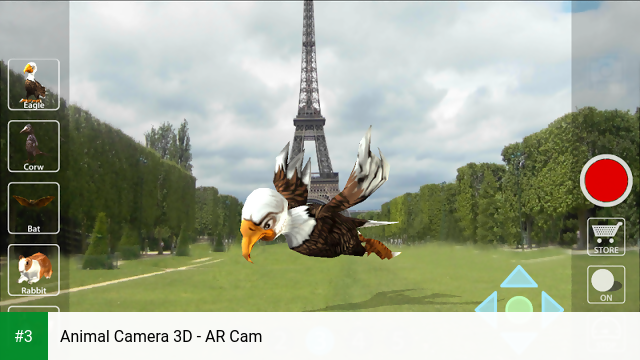 Animal Camera 3D - AR Cam app screenshot 3