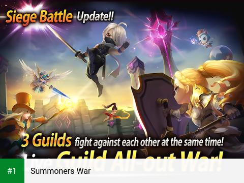 Summoners War app screenshot 1