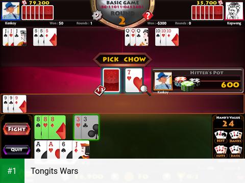 Tongits Wars app screenshot 1