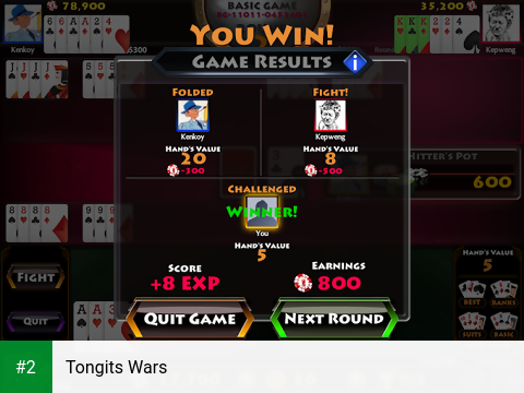Tongits Wars apk screenshot 2