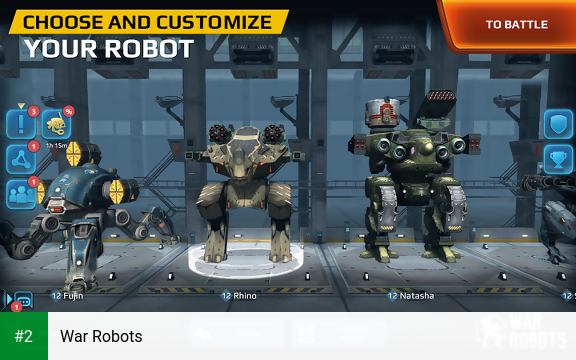 War Robots apk screenshot 2