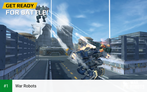 War Robots app screenshot 1