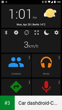 Car dashdroid-Car infotainment app screenshot 3