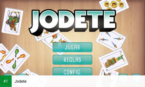 Jodete app screenshot 1