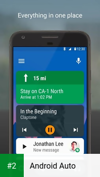 Android Auto apk screenshot 2
